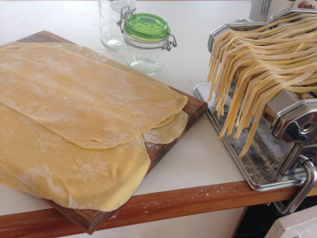 Homemade pasta. Slower, but less waste. not to mention cheaper.