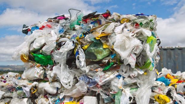 landfill plastic